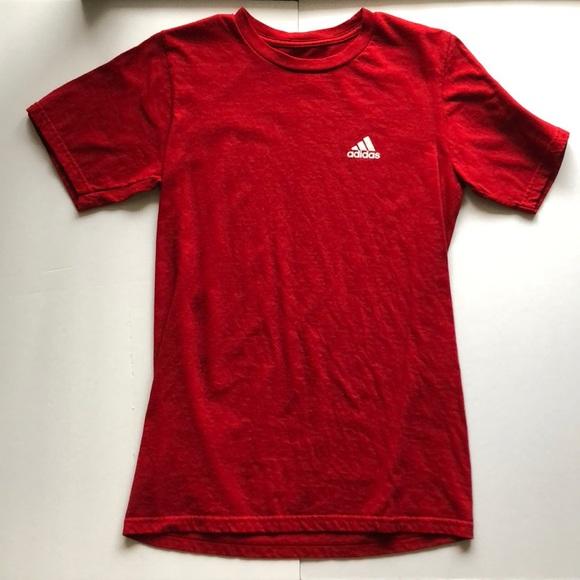 adidas Tops - adidas red mens tee